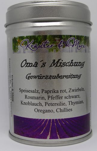 Oma´s Mischung Dose
